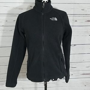 The North face full zip fleece size Small